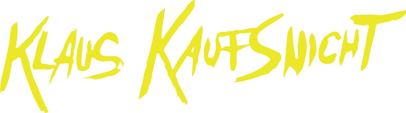 KLAUS KAUFSNICHT